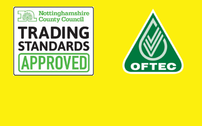 OFTEC Registered Business - Nottinghamshire Trading Standards Approved